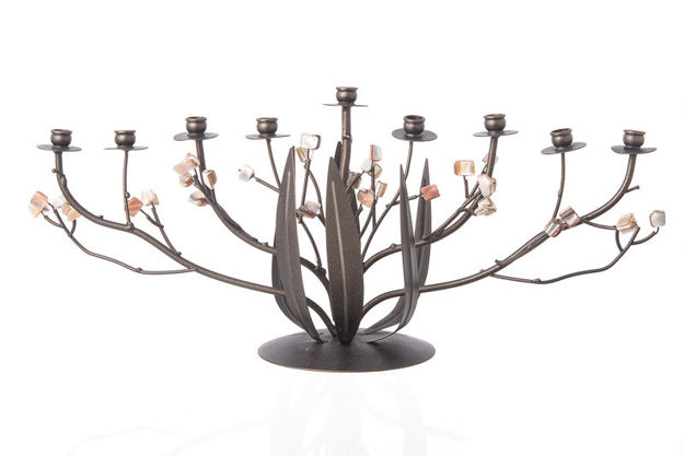 Picture of #686 Bronze Narcissus Menorah