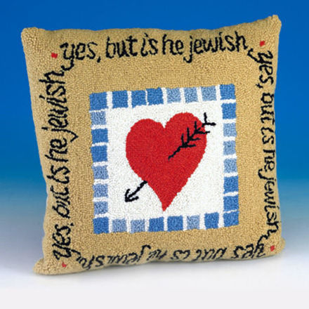 Picture of #700 Is he Jewish? Pillow