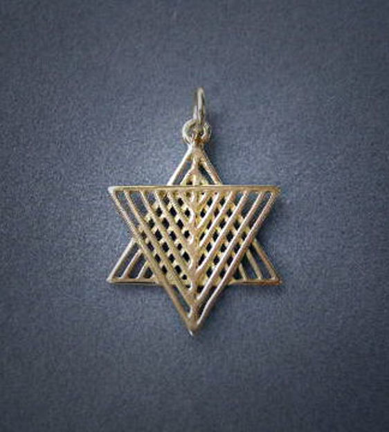 Picture of #G1020 Latticed Star of David