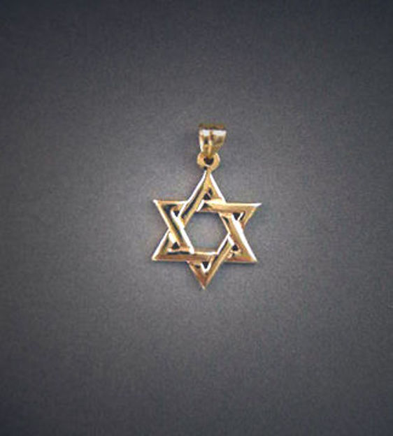 Picture of #G122 Classic Star of David