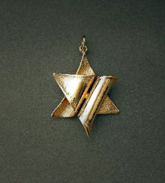 Picture of #G150 Folded Star of David