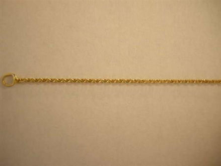 Picture of #GBROPE 14K Yellow Gold Baby Rope Chain