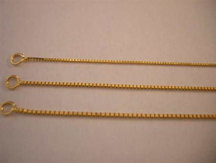 Picture of #GHBOX 14K Yellow Gold Heavy Box Chain