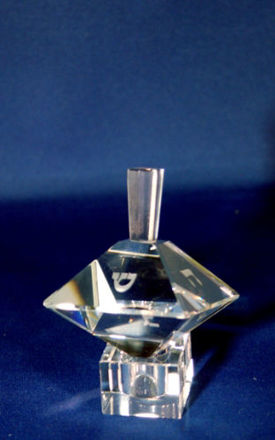 Picture of #515 Double Pyramid Crystal Dreidel