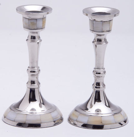 Picture of Mother of Pearl Candle sticks