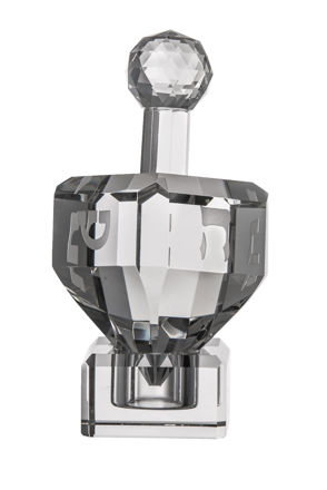 Picture of #320-ST Dreidel Crystal with stand
