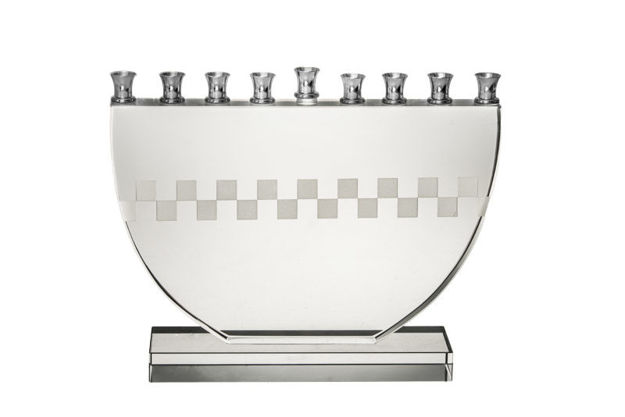 Picture of #665-M Checker Board menorah