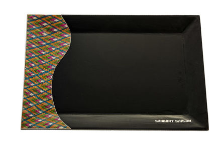 Picture of Reed Sea Shabbat Tray dark