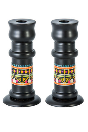 Picture of Pharonic Shabbat Candlesticks