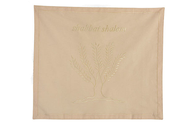 Picture of #604-BI Challah Cover Tree of Life Bisgue