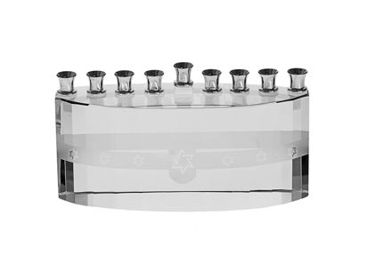 Picture of #156-C ,Crystal Ice Menorah