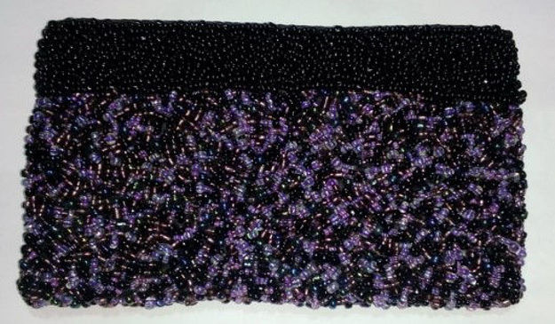 Picture of #B605-01 Beaded Purse Large