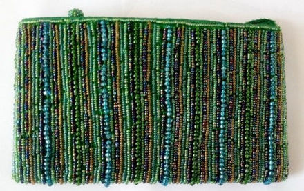 Picture of #B605-08 Beaded Purse Large
