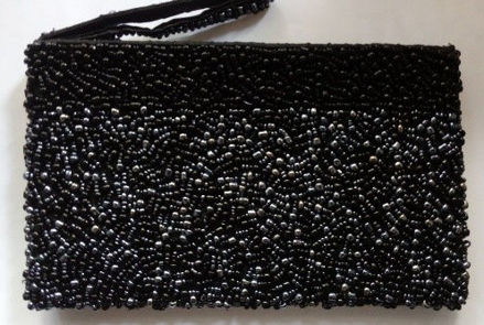 Picture of #B605-13 Beaded Purse Large