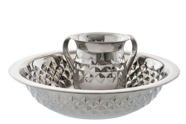 Picture of #5753 Stainless steel Diamond wash cup and bowl