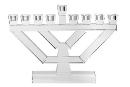Picture of #175 Crystal Menorah