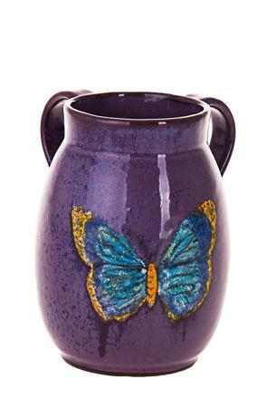 Picture of #7067-E Stoneware eggplant Wash Cup