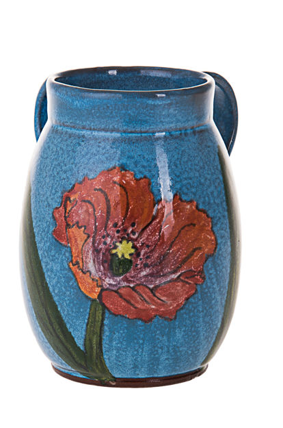 Picture of #7067-T Stoneware turquoise Wash Cup