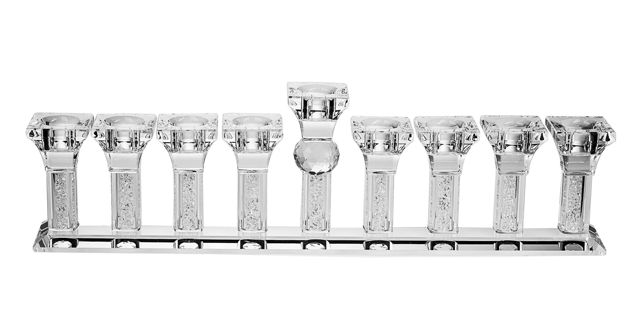 Picture of #181- Menorah Crystal