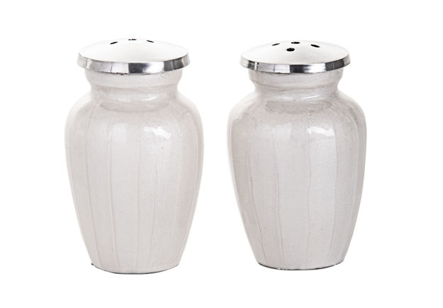 Picture of #3003-w Salt and Pepper White