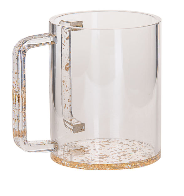 Picture of #7070-G Wash Cup Gold Lucite