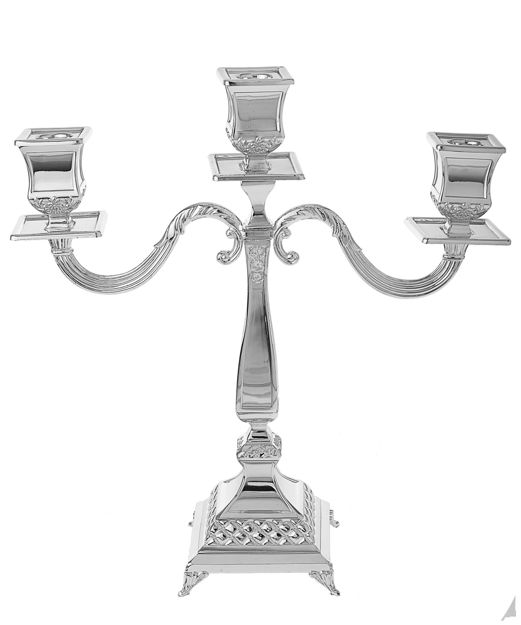 Picture of #402-3 Candelabra Silver Plated 3 branches