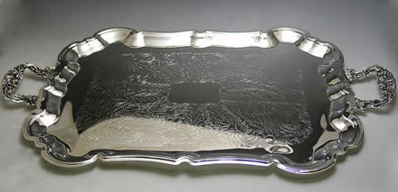 Picture of Tray Silver Plated