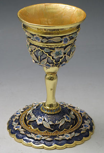Picture of #6301 Kiddush Cups Jeweled