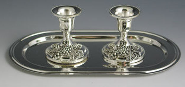 Picture of Candlestick silver Plated