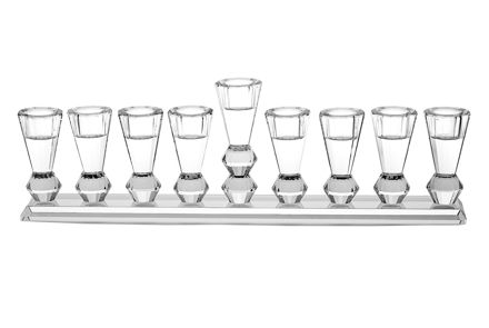 Picture of #157 Crystal Menorah