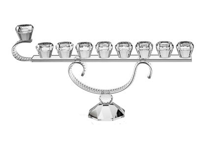 Picture of #159 Crystal Menorah