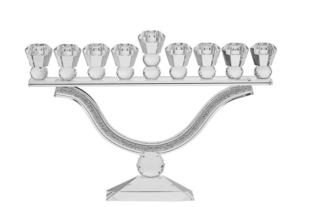 Picture of #179 Crystal Menorah