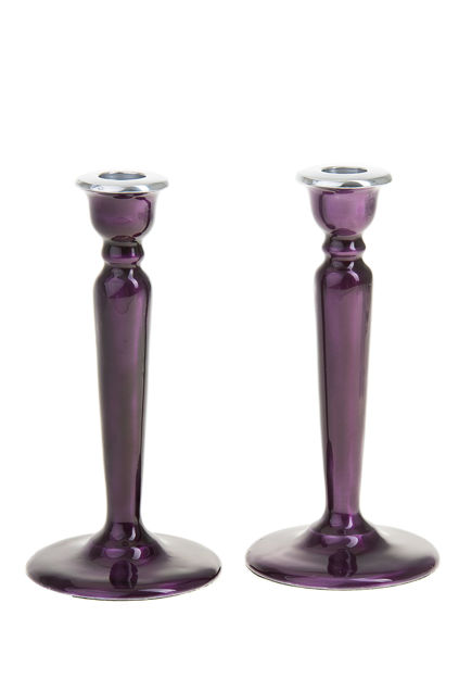 Picture of G100-PR Candle Stick Enamel Purple