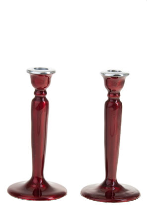 Picture of G100-R Candle Stick Enamel Red