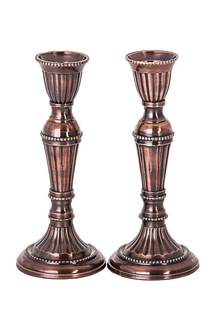 Picture of I101 Metal Bronze Candle Stick